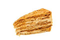 拿破仑蛋糕 库存照片