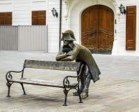 拿破仑雕塑 免版税库存照片
