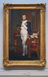 拿破仑,国家肖像馆画象  免版税库存照片