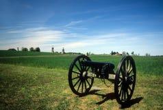 拿破仑, 12 lb大炮,在桃子果树园附近, 图库摄影