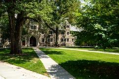 持有人霍尔-普林斯顿大学 免版税库存照片
