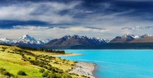 挂接厨师,新西兰 免版税库存照片