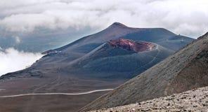 挂接Etna,西西里岛 图库摄影