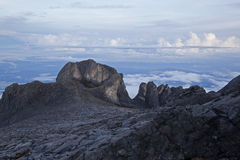 挂接Kinabalu 图库摄影
