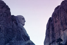 挂接Rushmore 免版税库存照片