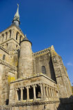 挂接St米谢尔修道院  库存照片