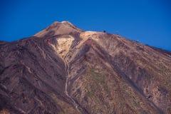 挂接Teide, Tenerife 免版税库存图片