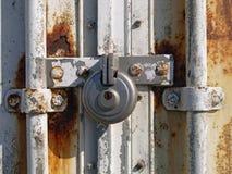 挂锁固体 库存图片