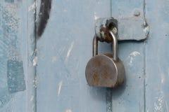 挂锁的特写镜头 免版税库存图片