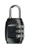 挂锁锁 它互联网安全 库存照片