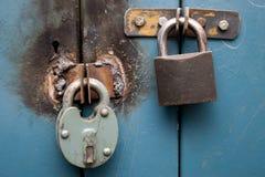 挂锁 免版税图库摄影