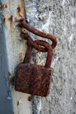 挂锁 免版税库存图片