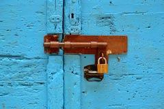 挂锁 库存照片