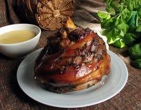 指关节猪肉 免版税库存图片
