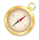 指南针。 库存图片
