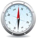 指南针向量 免版税库存图片