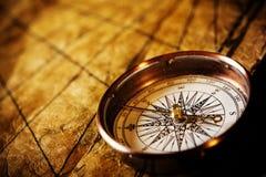 指南针定位 免版税图库摄影