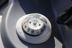 指南针小船 图库摄影
