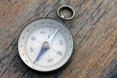 指南针总是指向北部 免版税库存照片
