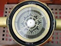 指南针船 免版税库存照片