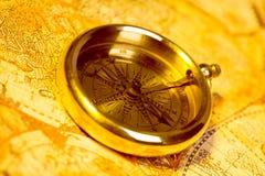 指南针 免版税图库摄影