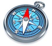 指南针3d 图库摄影