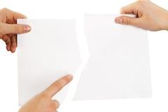 指向二的连接的零件 免版税图库摄影