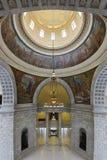 指明犹他的国会大厦 免版税库存图片