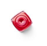 指甲油手指组成秀丽化妆用品 图库摄影