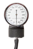 指示符减速火箭的唯一血压计 库存图片