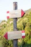 指示符木山的符号 库存图片