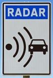 指示符雷达信号 库存照片