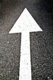 指示路的箭头 免版税库存照片
