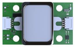 指纹传感器模块 免版税库存图片