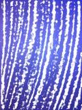指纹设计蓝色纹理 图库摄影