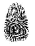 指纹 免版税图库摄影