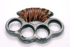 指节铜环 免版税库存照片