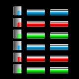 按五颜六色光滑 向量例证