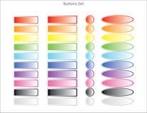 按五颜六色的万维网 免版税库存图片