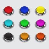 按五颜六色的集 免版税库存图片