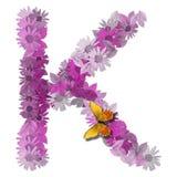 按字母的辅音k信函 免版税库存图片