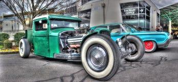 按客户要求设计的美国20世纪30年代旧车改装的高速马力汽车 库存照片