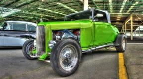 按客户要求设计的20世纪20年代旧车改装的高速马力汽车 库存图片