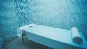 按摩的美妙地被设计的和装饰的室 股票视频