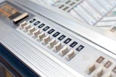 按自动电唱机信函歌曲 免版税库存照片