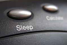 按钮休眠 库存照片