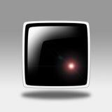 按钮定位 免版税库存图片