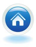 按钮家庭万维网 库存图片