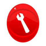 按钮工具 免版税图库摄影