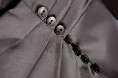 按钮折叠裙子 免版税库存图片